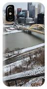 Pittsburgh Duquesne Incline Winter IPhone Case