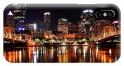 Pittsburgh Panorama IPhone Case