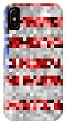 Pixel Flag IPhone Case