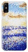 Pixelated Sunset IPhone Case
