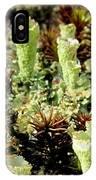 Pixie Cup Lichenscape IPhone Case