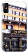Pj Ryans Irish Pub IPhone Case
