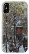 Place De La Republique Paris IPhone Case