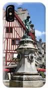 Place Francois Rude - Dijon IPhone Case