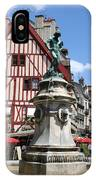 Place Francois Rude - Dijon IPhone Case