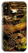 Placer Creek Near Wallace Idaho IPhone Case