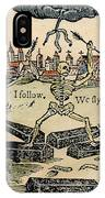 Plague Of London, 1665 IPhone Case