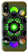 Planetary Metatron Zodiac IPhone Case