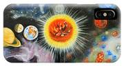 Planets And Nebulae In A Day IPhone Case