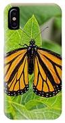 Plant Milkweed And Save The Monarch Butterfly IPhone Case