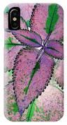 Plant Pattern - Photopower 1211 IPhone Case