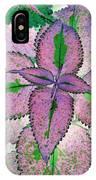 Plant Pattern - Photopower 1212 IPhone Case