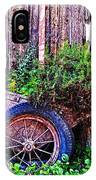 Planted Wheel IPhone Case