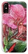 Plastic Wrapped Pink Flower By Diana Sainz IPhone Case