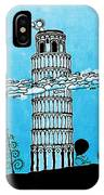 Playful Tower Of Pisa IPhone Case