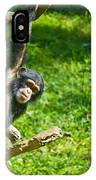 Playing Chimp IPhone Case