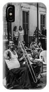 Playing Jazz On Royal Street Nola IPhone Case