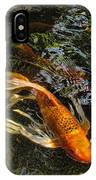 Playing Koi With Me IPhone Case