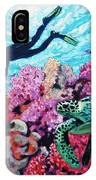 Playing With The Sea Turtles IPhone X Case
