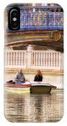 Plaza De Espana Rowboats IPhone Case