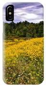 Pleasant Meadow Foreboding Sky IPhone Case