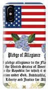 Pledge Of Allegiance IPhone X Case