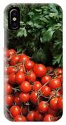 Plentiful Red IPhone Case