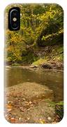 Plessey Woods And The River Blyth IPhone Case