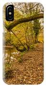 Plessey Woods Riverside Footpath IPhone Case