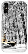Plowin Snow IPhone Case