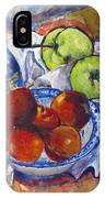 Plums Apples IPhone X Case