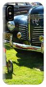 Plymouth And Baghera IPhone Case