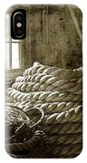 Plymouth Cordage Company Ropewalk IPhone Case