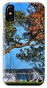 Plymouth Harbor In Autumn IPhone Case