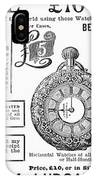 Pocket Watches, 1888 IPhone Case