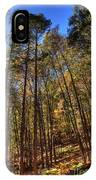 Pocono Trees IPhone Case