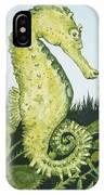 Pod Seahorse IPhone Case