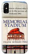 Poe Plaza - Clemson University IPhone Case