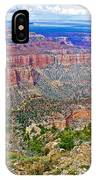 Point Imperial 8803 Feet On North Rim Of Grand Canyon National Park-arizona   IPhone Case