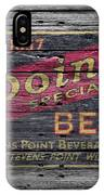 Point Special Beer IPhone Case