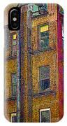 Pointillism In Steel And Brick IPhone Case