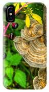 Poke And Bracket Fungi IPhone Case