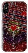 Poker Addiction Digital Painting IPhone Case