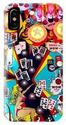 Poker Playfield IPhone Case