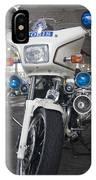 Police Honda IPhone Case