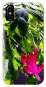 Polka Dot Easter Cactus IPhone Case