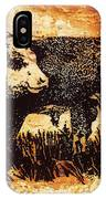 Polled Herford Bull 22 IPhone Case