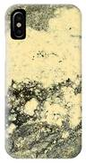 Pollen Of Black Spruce Trees On Water Surface IPhone Case