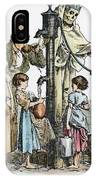 Pollution Cartoon, 1866 IPhone Case