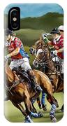 Polo Game Horses IPhone Case